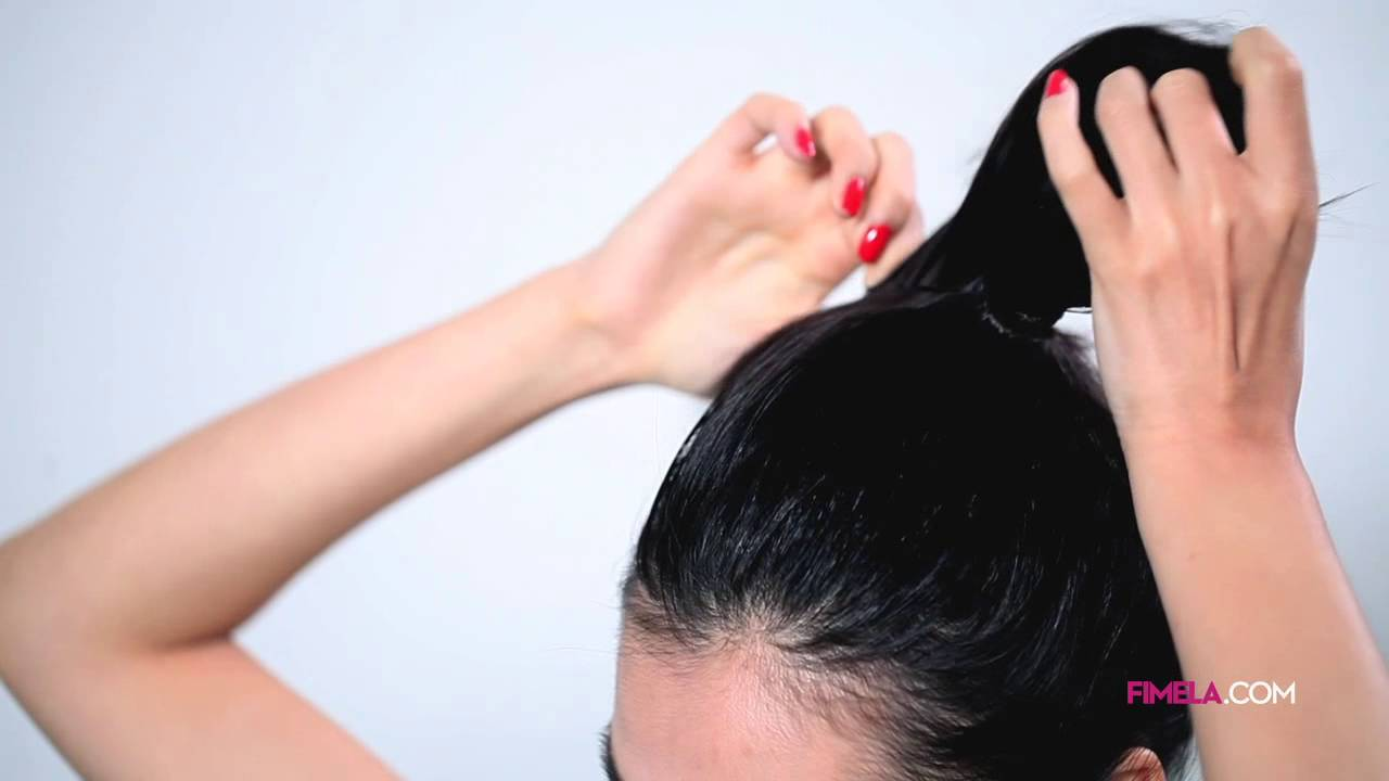Hair Fashion Video Tutorial Doughnut Bun Hairstyle Youtube
