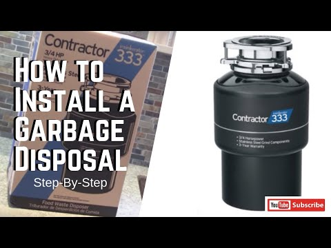 Garbage Disposal Installation and Repair in Prosper