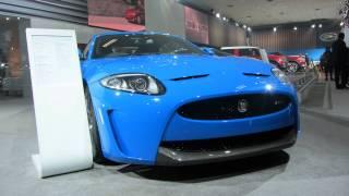 Jaguar XKR-S in India at Delhi Auto Expo 2012
