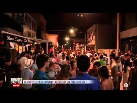 Enquête d'Action   De Montpellier à Perpignan alerte sur les plages du Sud ! W9 2015 06 23 23 00