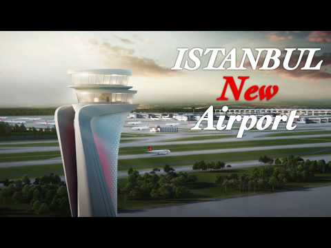 ISTANBUL NEW AIRPORT : LE PLUS GRAND AÉROPORT AU MONDE ! MUSA.V