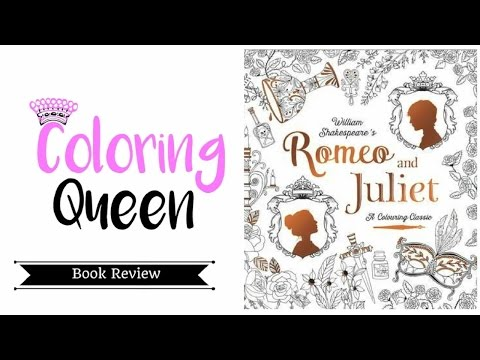 Romeo & Juliet: A Colouring Classic - Review | Coloring Queen | 360x480