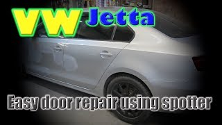 VW Jetta. Light repair. Легкий ремонт.