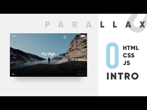 0 - Project Design & Feel Intro - Parallax Coding HTML CSS JS GSAP