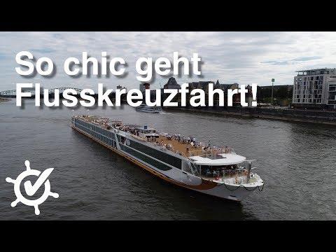 So Chic Geht Flusskreuzfahrt! VistaStar - Kurzreise Und Taufe (Vlog)