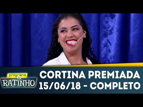 Cortina Premiada - Completo | Programa Do Ratinho (15/06/18)