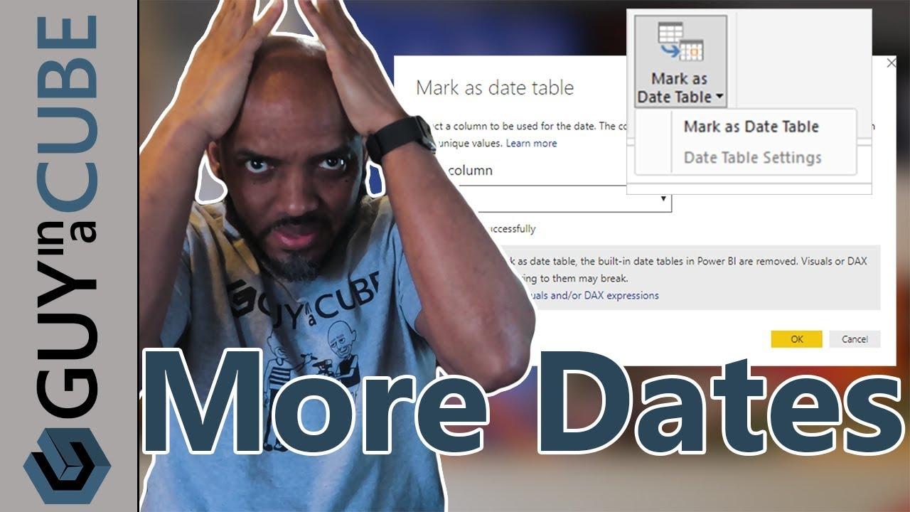 Mark as Date Table in Power BI Desktop is here!