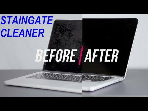 KIT -Cleaning Spray **NEW** Fix MacBook Retina Screen  Anti Glare Coating Reflective ( staingate )
