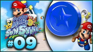 Super Mario Sunshine 100% Walkthrough | ALL Blue Coins Part 1! [Episode 9 🔴LIVE]