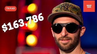 2020 WSOP Main Event Final Table: 7th Place Shawn Stroke