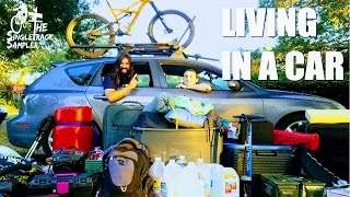 EVERYTHING I OWN FITS IN MY CAR   The Singletrack Sampler