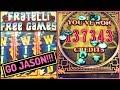 8 Petals HAND PAY by Jason & Goonies BONUS! 🎰 Slot Machines w Brian Christopher