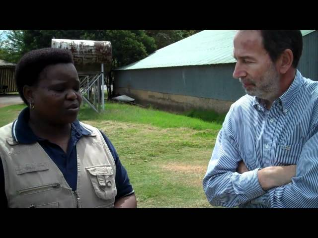Female former-subsistance farmer supplies retailers throughout South Africa