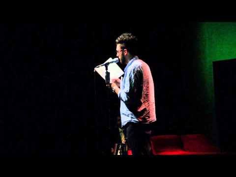 Mischa Sarim Verollet beim Best Of Poetry Slam im April 2013 Teil 2/3