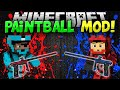 Minecraft   PAINTBALL MOD!!!   Guns, Bases, and MORE!!   Mod Showcase [1.8]