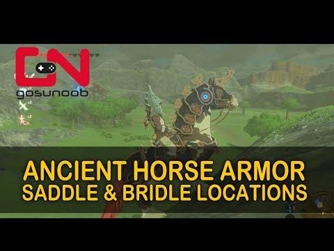 Zelda BoTW Ancient Horse Armor - Saddle & Bridle Locations - Champions Ballad DLC