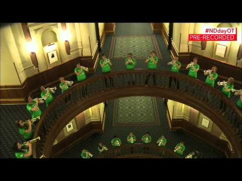 Trumpets in the Dome - Notre Dame Day 2015