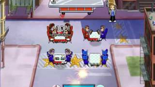 Diner Dash 5: BOOM! - Avenue Flo Level 1 ~ 4