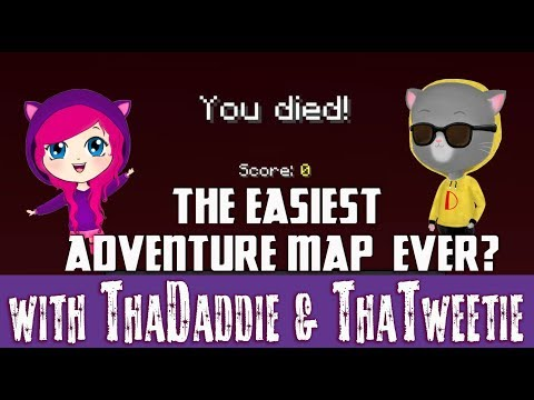 Is this a SPITE Map? Or The Easiest Adventure Map? #minecraft