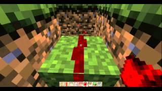 Minecraft Tutorial: Mine Cart Recall Button 2.0