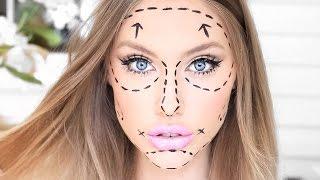Plastic Surgery Barbie - Quick u0026 Easy HALLOWEEN Makeup ♥ stephaniemaii ♥