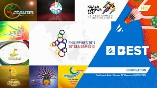 A-Best - Southeast Asian Games TV Openers (2003-2019) | Compilation