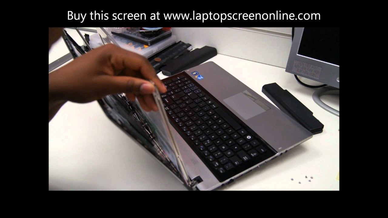 Samsung notebook drivers 300e - Samsung Np Rv510 Rv511 S3510 S3511 R530 R519 Laptop Screen Replacement Repair Youtube