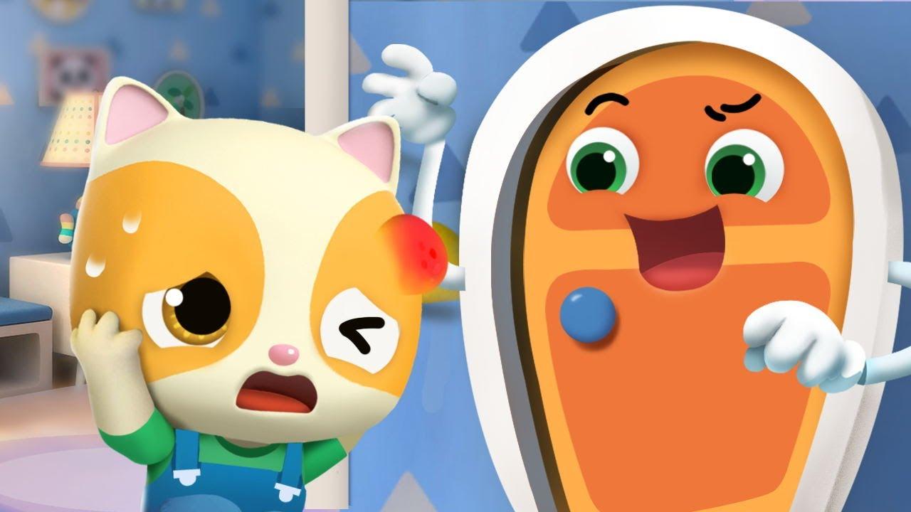 *新着*ドア怪物を追いだせ! | 子供向け安全教育 | 赤ちゃんが喜ぶ歌 | 子供の歌 | 童謡 | アニメ | 動画 | ベビーバス| BabyBus