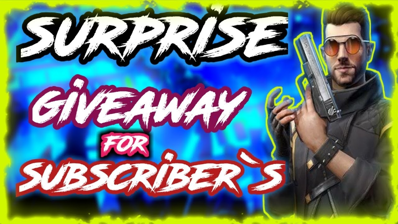 Surprise giveaway for my subscribers || Get Free Diamonds, Road to 20k Family || ❤️ se shukuriya ||