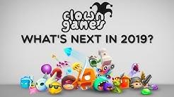 What's next in 2019? Recap of Clown Games 2018: Mobg.io Hilly.io Biters.io & more io games!