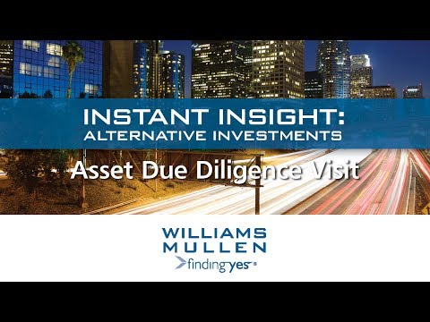 Instant Insight: Alternative Investments -  Asset Due Diligence and Property Visits