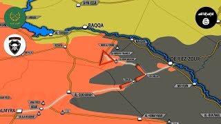 1 сентября 2017. Военная обстановка в Сирии. Боевики США освободили пилота ВВС Сирии и 30 солдат.