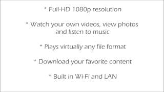 STRONG HD Media Player with Digital TV Tuner