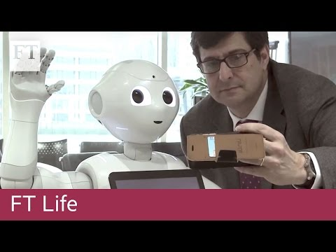 Pepper the 'emotional' robot visits the FT | FT Life