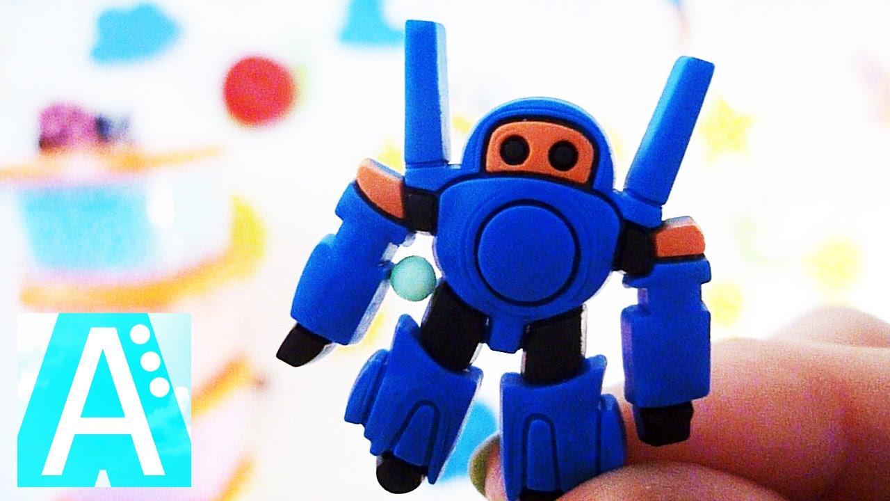 собак картинки про роботов из пластилина крем тарталеткам, затем