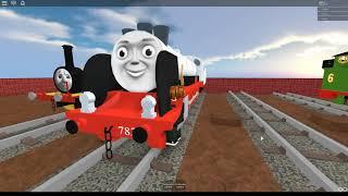 Thomas and Friends - Merlin Roblox train Crash