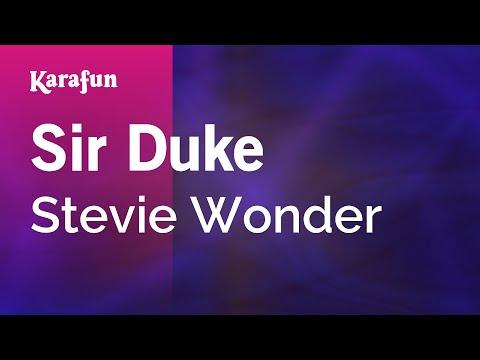 Karaoke Sir Duke  Stevie Wonder *
