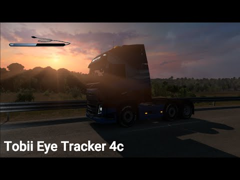 6d86655e0e4 Euro Truck Simulator 2: Playing with an Tobii Eye Tracker 4c! [5K60FPS]