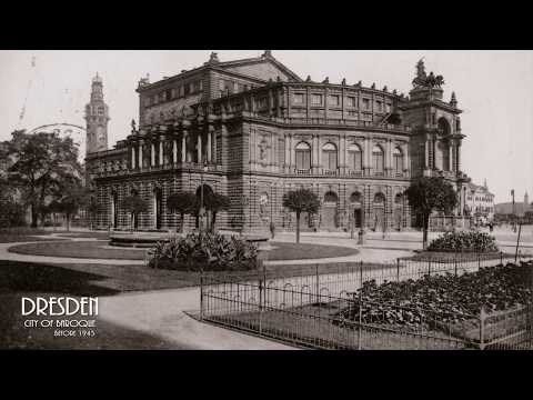 Visit Dresden ▶ City of Baroque before Bombing 1945 (Part 4)