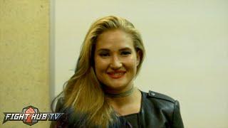 Undefeated Anastasia Yankova talks Gina Carano changing her life