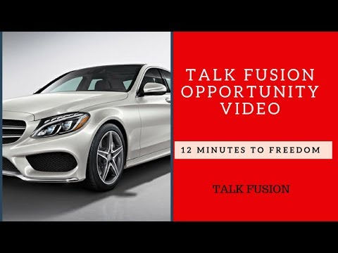 Talk Fusion Opportunity Video - 12 Minutes To Freedom.