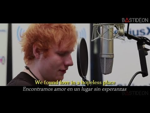 Ed Sheeran - We Found Love (Sub Español + Lyrics)