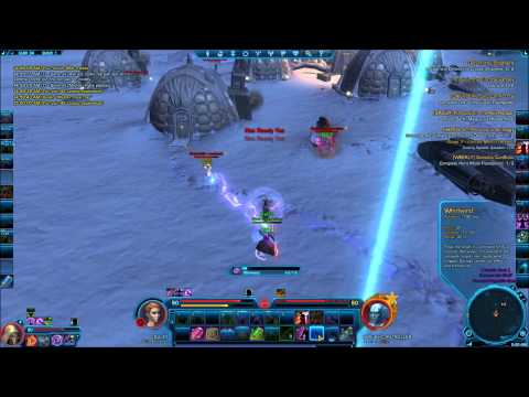 SWTOR-Soloing Heroic Ilum Daily - Poisonous Strategy (clear Trash Before 2 Jedi Phase)