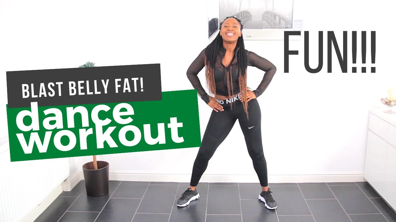 African Dance Cardio | HIIT Workout to Burn Belly Fat | Afrifitness