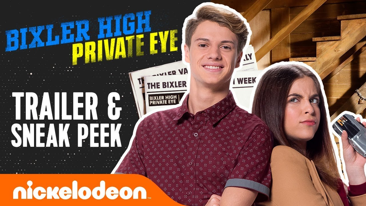 "Download Official Trailer & Sneak Peek: Bixler High Private Eye ft. Jace Norman & ""Baby Ariel"" Martin | Nick"