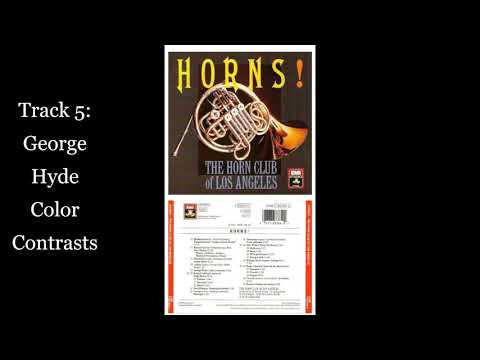 Track 5 From Horns! George Hyde Color Contrasts