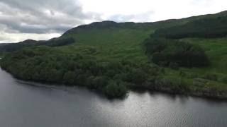 DJI Phantom 3, Loch Lubhair Highlands Scotland