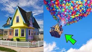 5 case dei cartoni nella vita reale