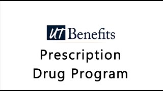 Prescription Drug Program