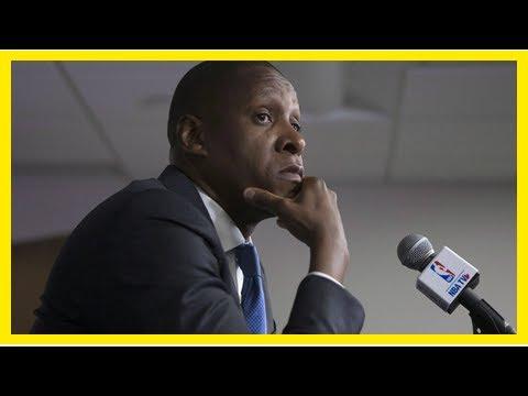 Breaking News | Report: Raptors president Masai Ujiri yells at refs in Game 3 vs. Cavs